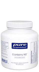 Pure Encapsulations Cranberry NS Urinary Tract Infection Supplement Review