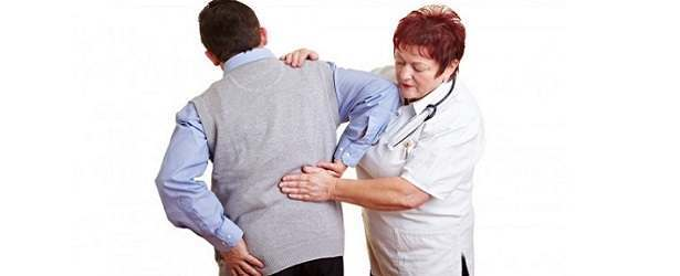 Lower back pain, leg pain, urination difficulties